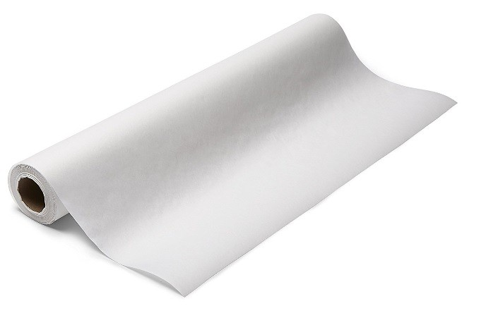 "Kozy Table Paper, Crepe, White,  24""x190'"